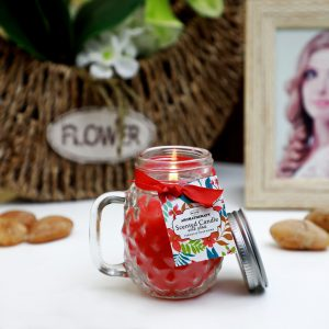 MAGICGLO CANDLE WITH GLASS