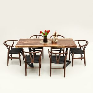 ACACIA SOLIDWOOD DINING TABLE